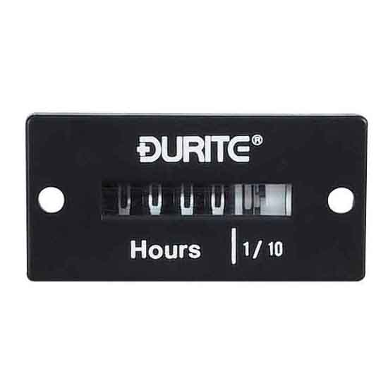 Durite 8-32V Engine Hour Counter