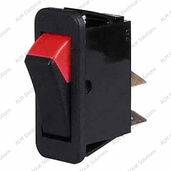 Black/Red On/Off Rocker Switch