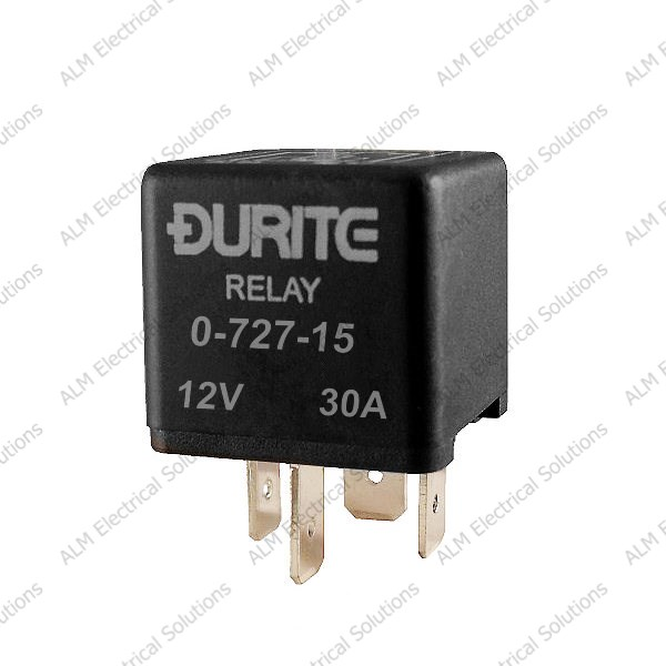 12V Mini Make/Break Relay - Sealed with Resistor