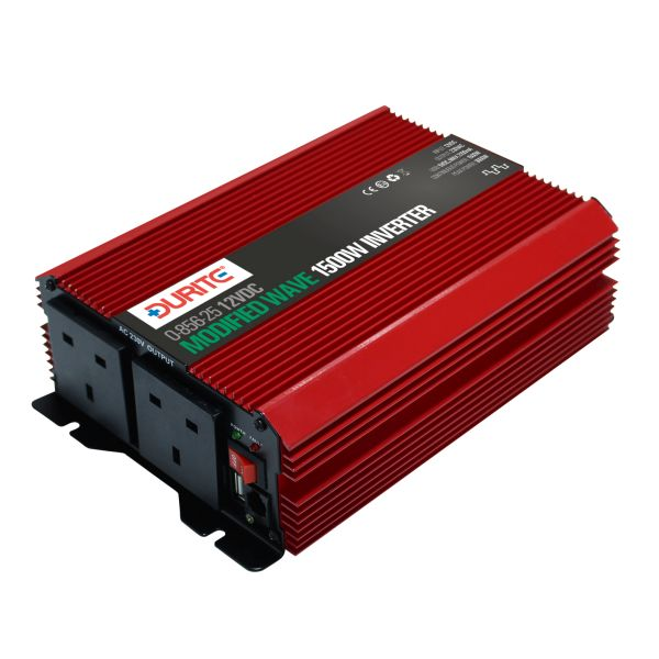 1500W 12V DC to 230V AC Compact Modified Wave Voltage Inverters
