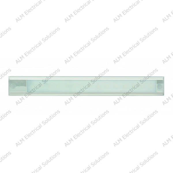 24V - 310Mm Interior Strip Lamp (Direct Current Only) - Silver