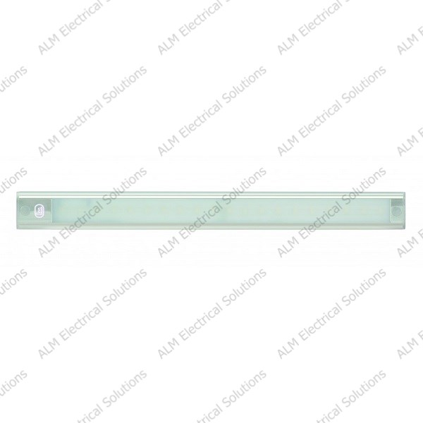 24V - 410Mm Interior Strip Lamp W/ Touch Switch - Silver