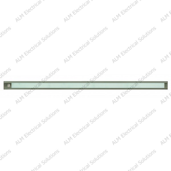 12V - 770Mm Interior Strip Lamp W/ Touch Switch - Grey Aluminium