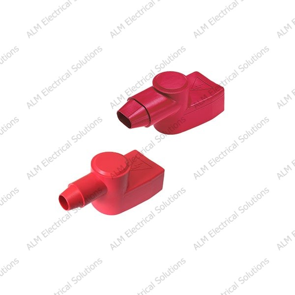 Red 5.2mm Adapter Terminal Insulator