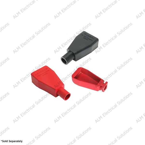 Red 15.9mm VTE Battery Terminal Insulators