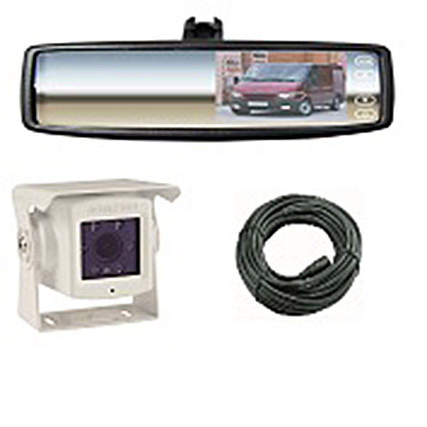 RCK5 - REVERSE CAMERA KIT WITH MIRROR MONITOR