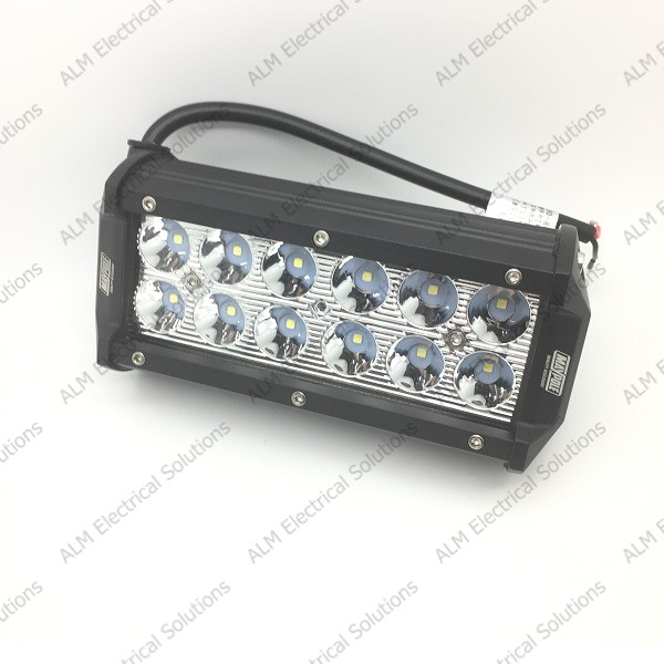 LED Light Bar 12/24V 36W (12 X 3w) Spot IP67