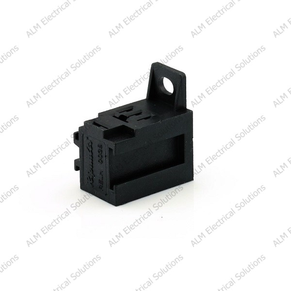Micro Relay Base Holder and Mounting Bracket - For 4/5 Pin Relay