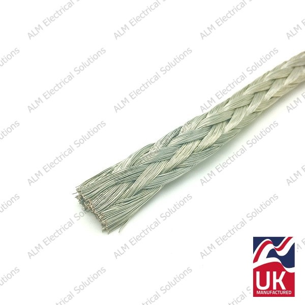 19mm² Tinned Copper Earthing Braids