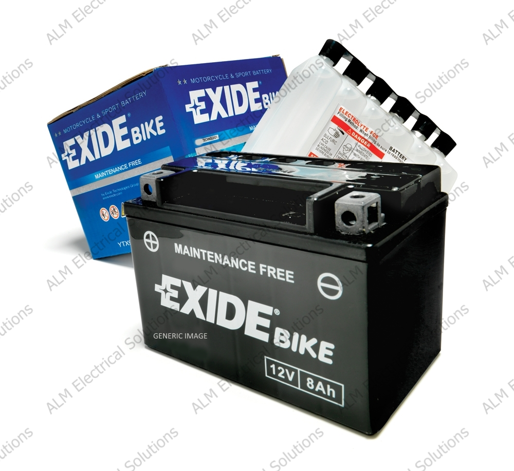 YB4L-B - Exide Motorcycle Battery
