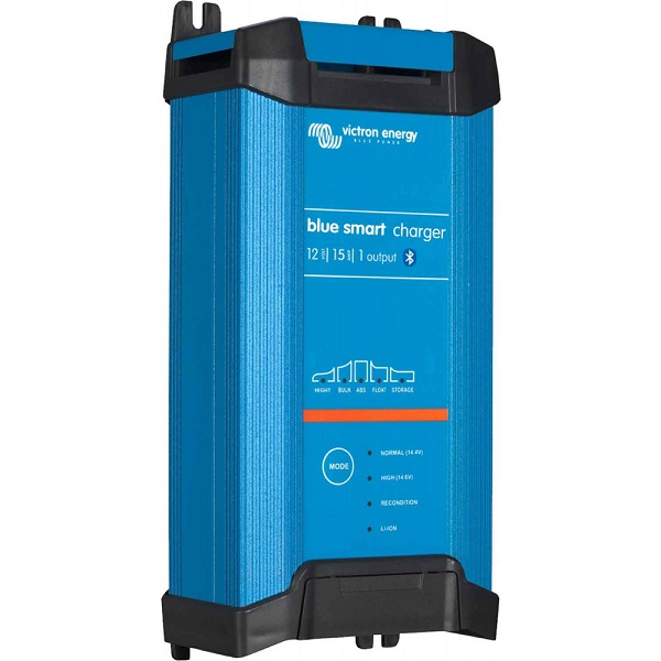 Victron Blue Smart IP22 Battery Charger 12v 15A - 230v UK Plug