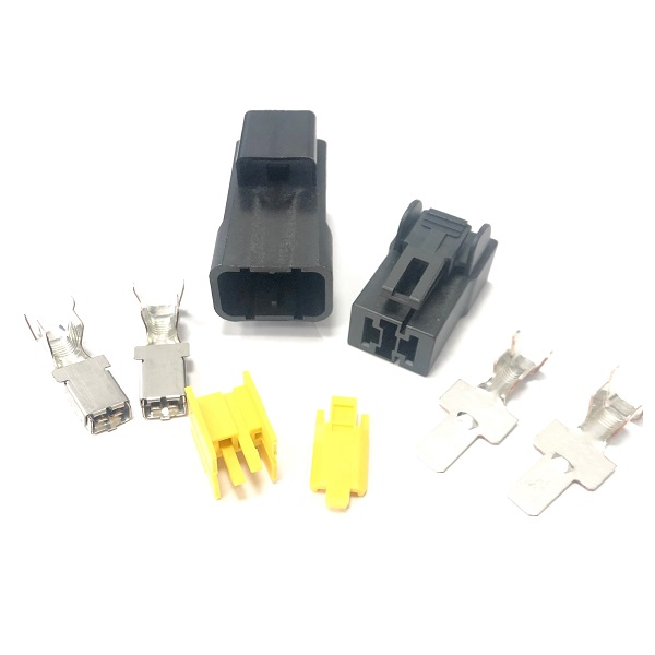 Double Pole High Current Wiring Connector 75A