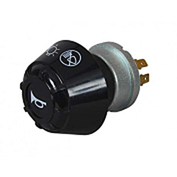 0-645-70 - Universal Rotary Headlight Switch with Horn Push