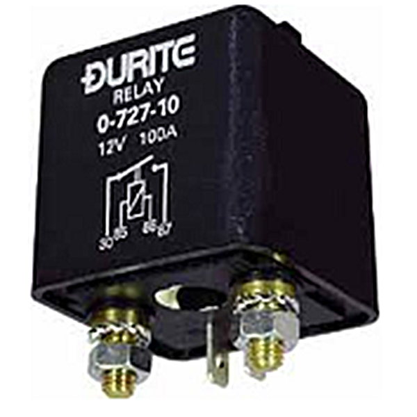 0-727-10 - Durite Heavy Duty 100A Relay