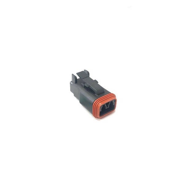 Deutsch DT Series 2 Way Connector Housing - Male