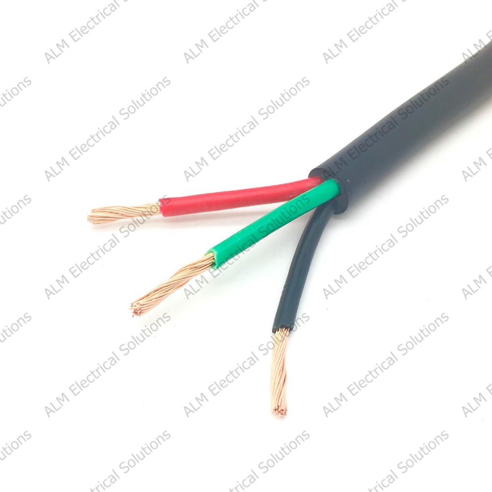 Three Core Thin Wall Cable 3 x 0.75mm² - 14 Amp
