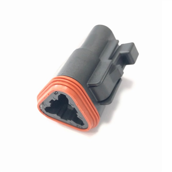 Deutsch DT Series 3 Way Connector Housing - Male
