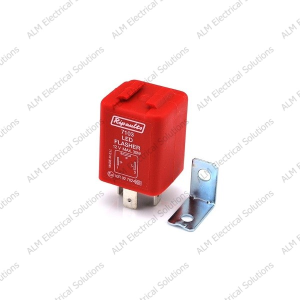 12v LED Compatible Indicator Flasher Unit/Relay - Negative Earth