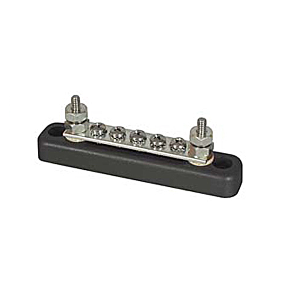 Power distribution busbars bb105 power distribution busbar 7 connections 100a publicscrutiny Choice Image