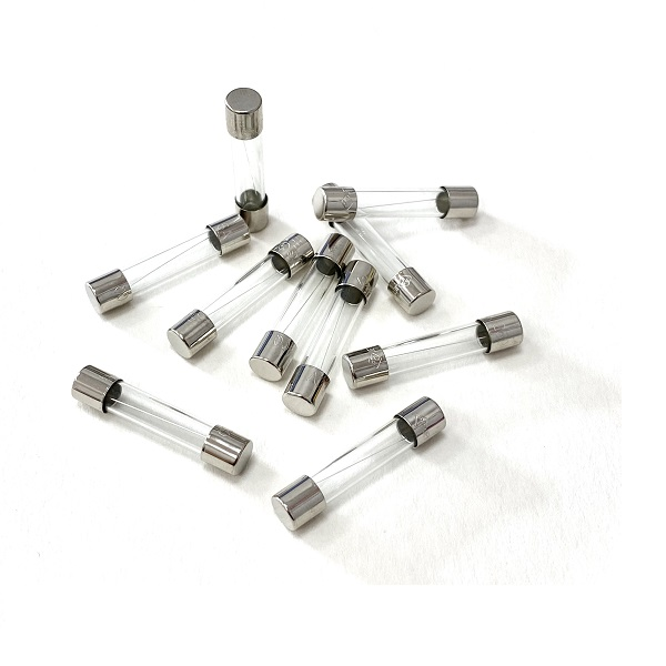 32mm Glass Fuses 6mm Ø 1A - 50A Rated
