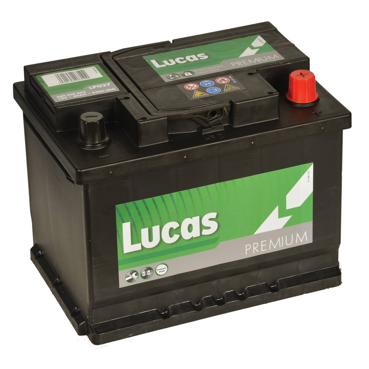 Lucas Premium LP027 Car Battery