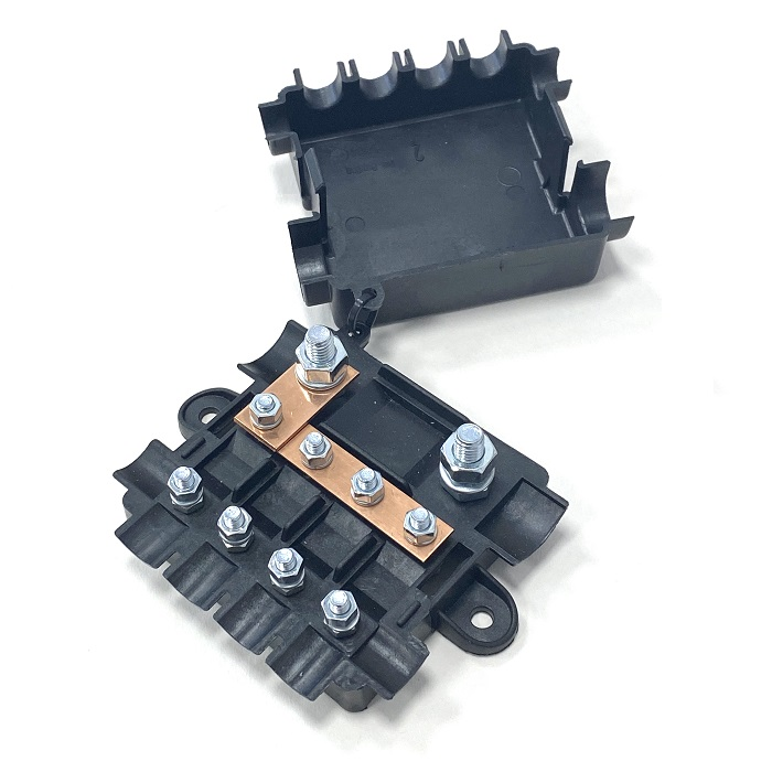 Heavy Duty Power Distribution Fuse Box For Mega & Midi Fuses