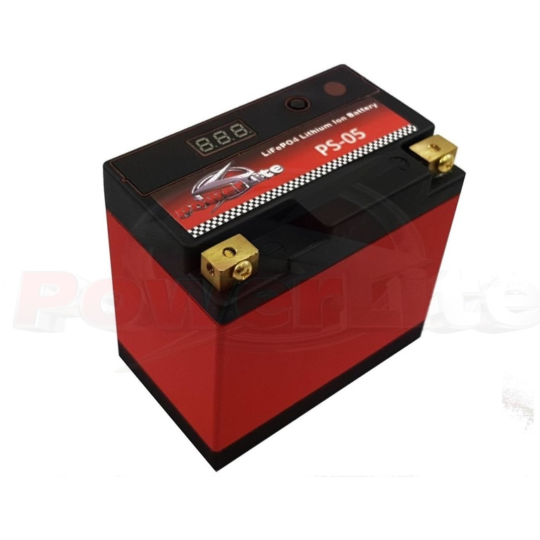 Powerlite LiFe PO4 Lithium Ion Race Battery 5Ah 160CCA