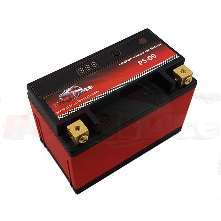 Powerlite LiFe PO4 Lithium Ion Race Battery 9Ah 300CCA