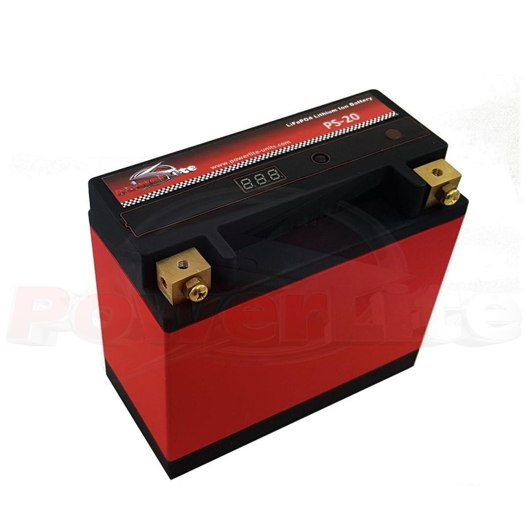 Powerlite LiFe PO4 Lithium Ion Race Battery 20Ah 630CCA