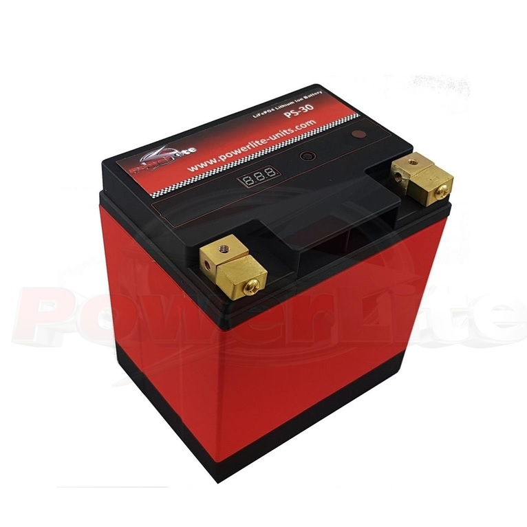 Powerlite LiFe PO4 Lithium Ion Race Battery 30Ah 800CCA