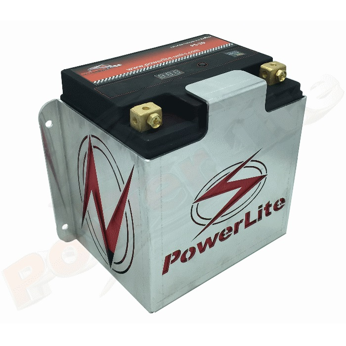 Powerlite Li-Ion 800CCA Race Battery & Mounting Bracket