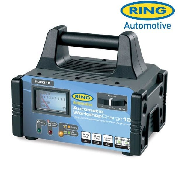 RCB312 - Ring Automatic Car Battery Charger 6/12V 12A