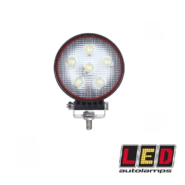 18W Round LED Flood Lamp - Red Line Range