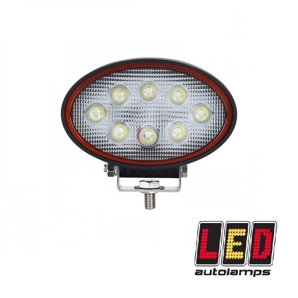 24W Oval LED Flood Lamp - Red Line Range