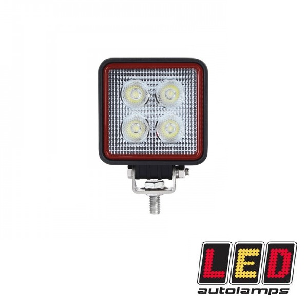 12W Compact Square LED Flood Lamp - Red Line Range
