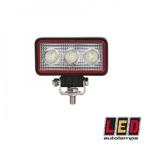 9W Compact Rectangular Flood Lamp - Red Line Range