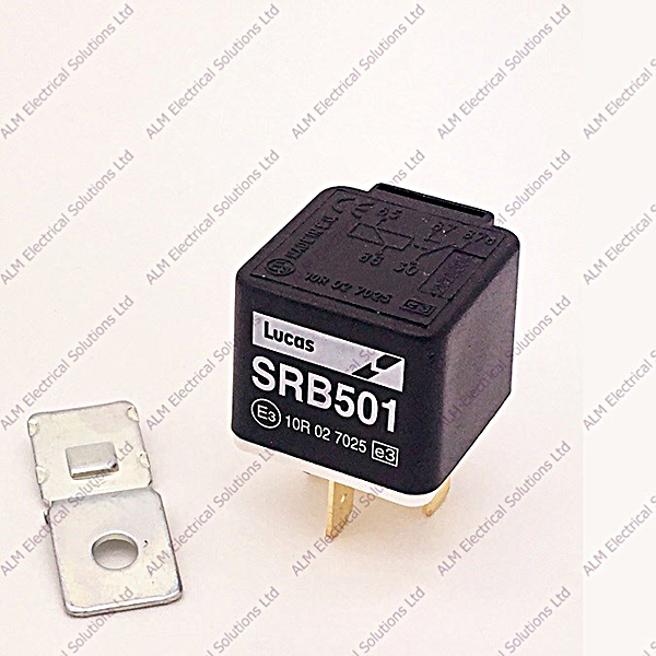 SRB501 - Genuine Lucas 5 Pin 20/30A Changeover Relay
