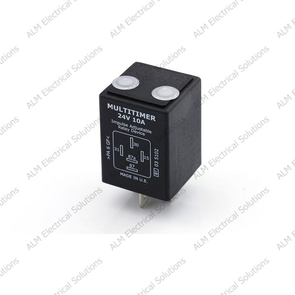 T40405 - 24V 10A Adjustable Delay On/Off Timer Relay