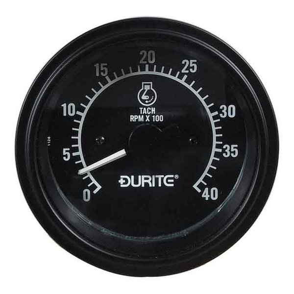 Durite 12/24V 86MM Tachometer, 270° Dial