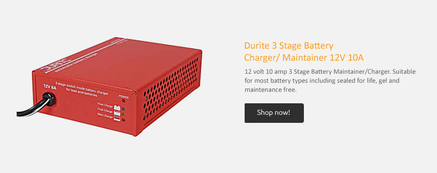 Durite Battery Charger