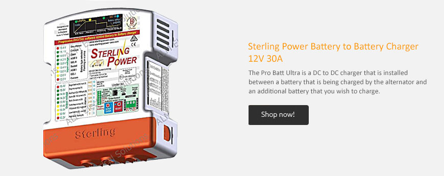 Sterling Power Battery to Battery Charger 12V 30A